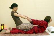 klasyczny masaż tajski, pozycja dynamiczna / thai classical massage -