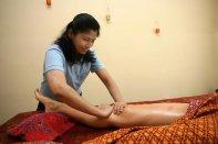 masaż z olejkami / oil massage -